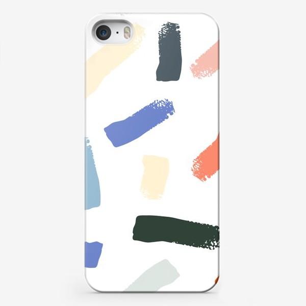Чехол iPhone «Brushstrokes»