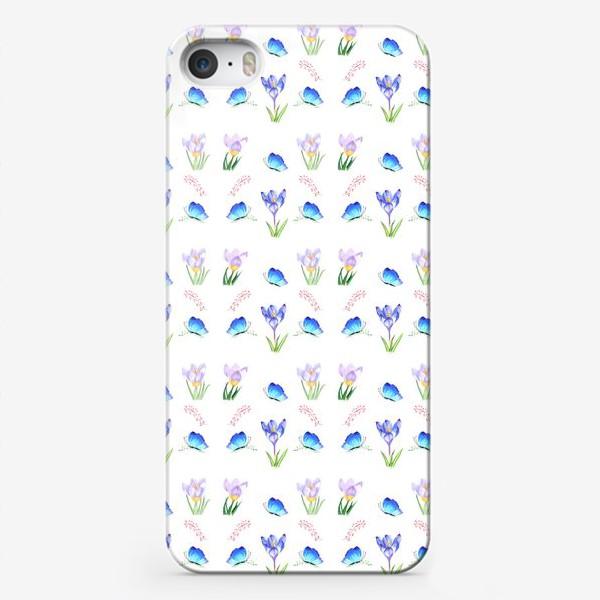 Чехол iPhone «Весенние крокусы»