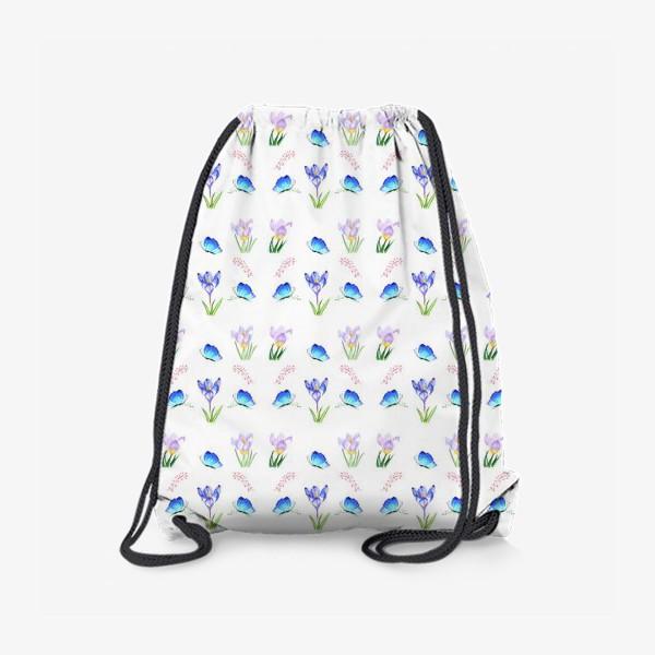 Рюкзак «Весенние крокусы»