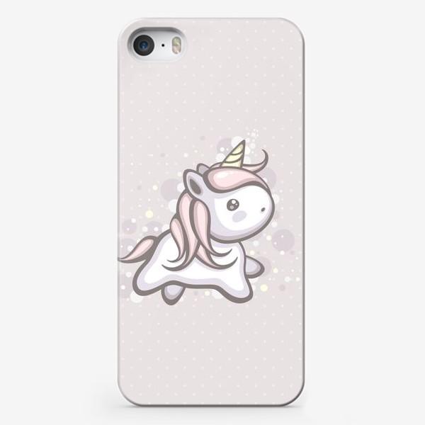 Чехол iPhone «Волшебный Единорожка»