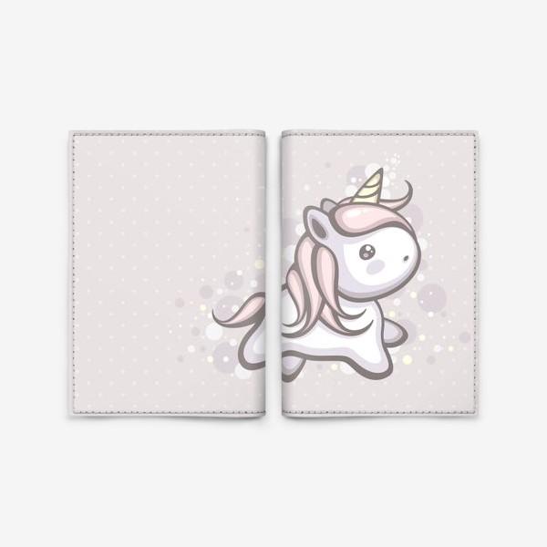 Обложка для паспорта «Волшебный Единорожка»
