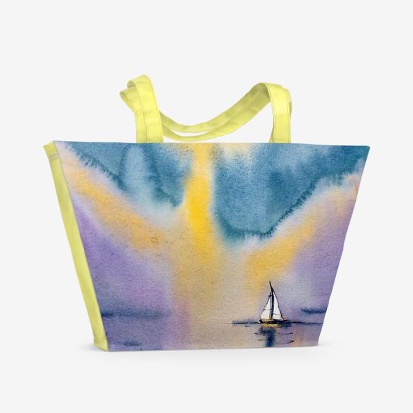 Пляжная сумка «Море»