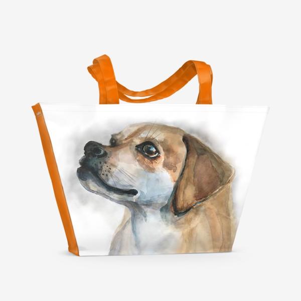 Пляжная сумка «Верный_Друг»