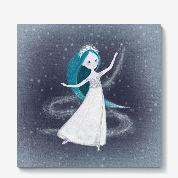 Холст «Снегурочка»