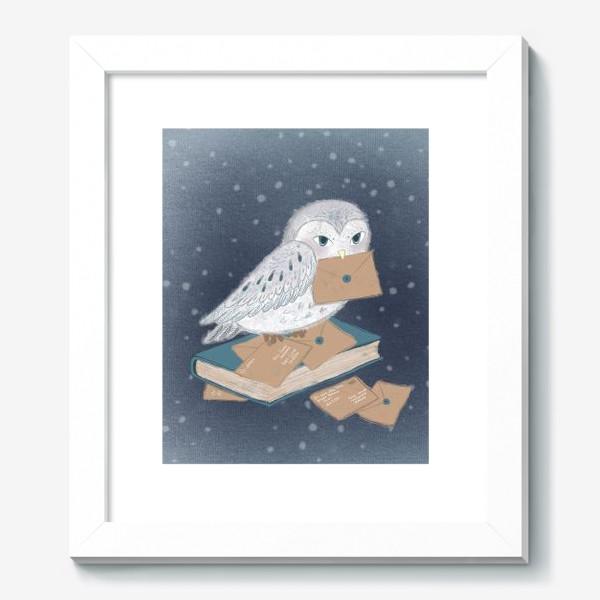 Картина «Новогодняя сова»
