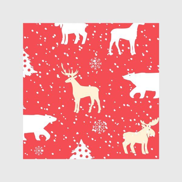 Скатерть «Рождественский паттерн»