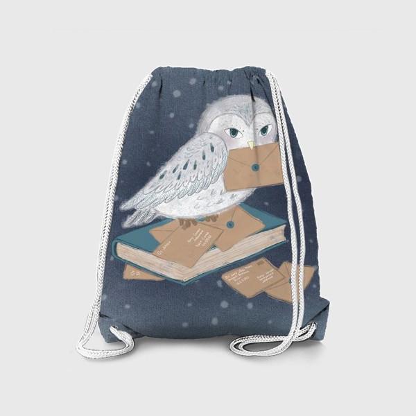 Рюкзак «Новогодняя сова»