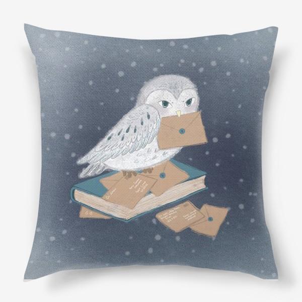 Подушка «Новогодняя сова»