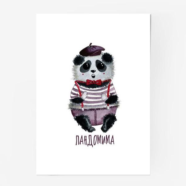 Постер «Панда Мим»