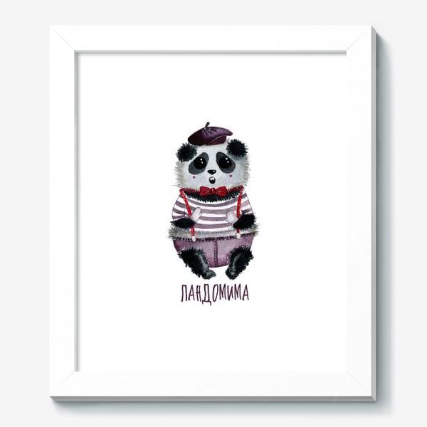 Картина «Панда Мим»
