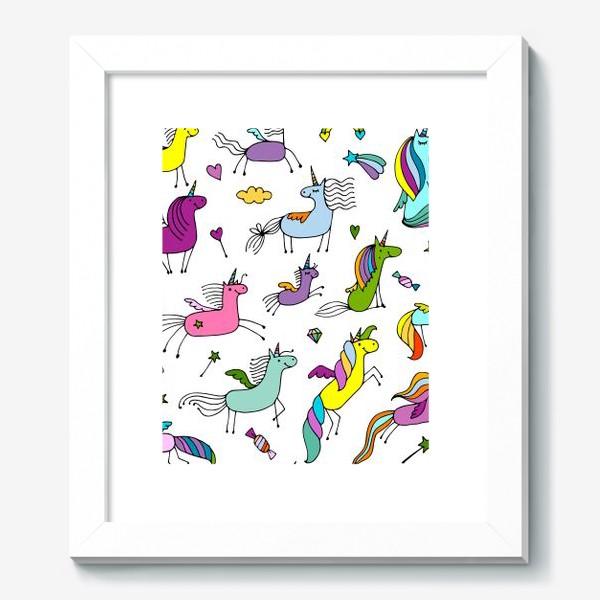 Картина «Cute unicorns»