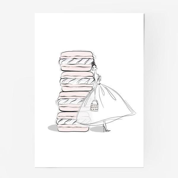Постер «макароны»