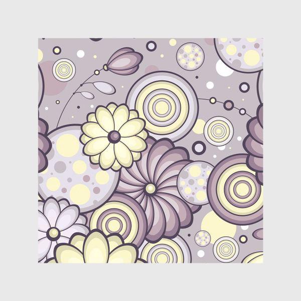 Шторы «Цветы в сумерках»