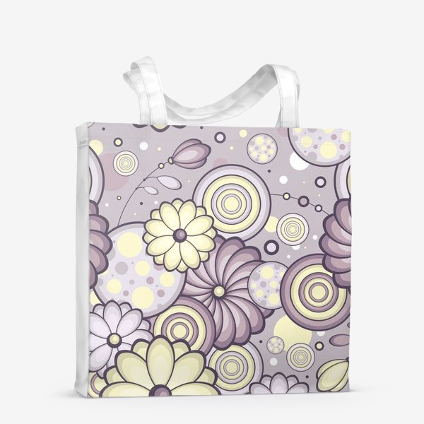Сумка-шоппер «Цветы в сумерках»