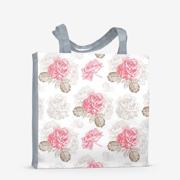 Сумка-шоппер «Винтажные розы»