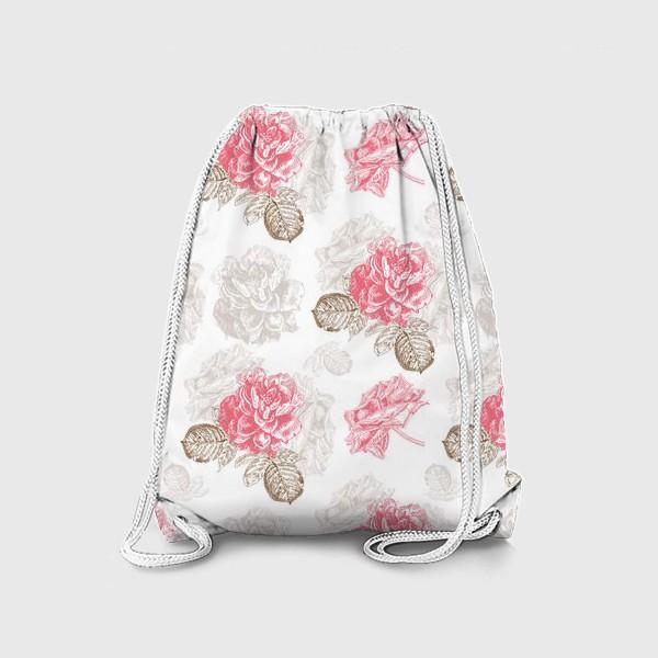 Рюкзак «Винтажные розы»