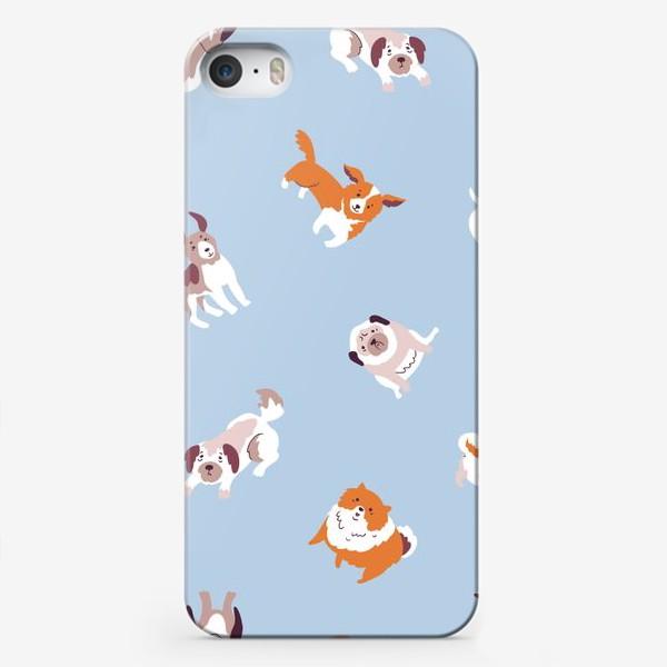 Чехол iPhone «Собачки»