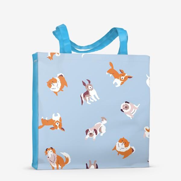Сумка-шоппер «Собачки»