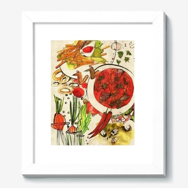 Картина «Летний обед»