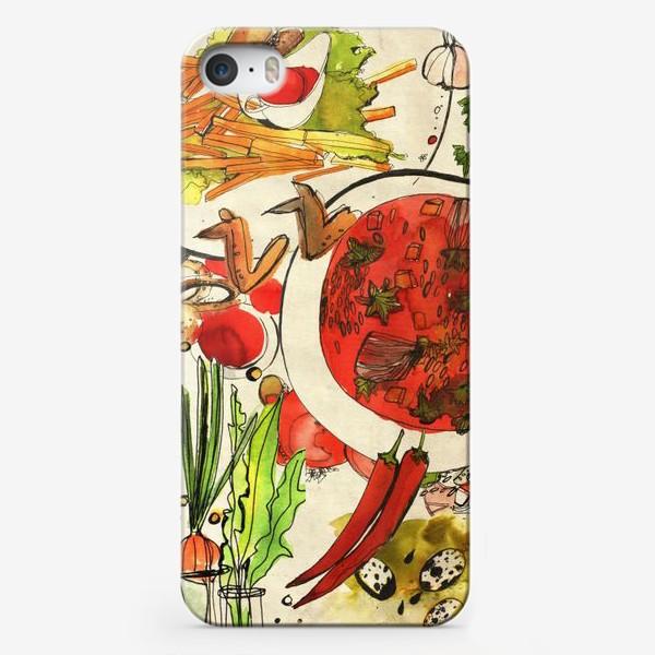 Чехол iPhone «Летний обед»