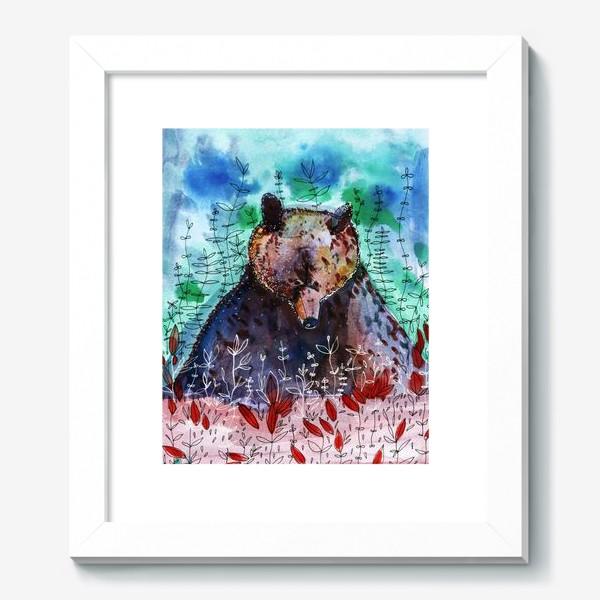 Картина «Добрый медвежонок»