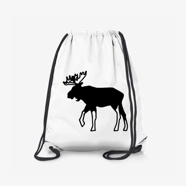 Рюкзак «Лось - символ Скандинавии, символ Аляски»