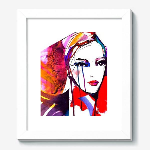 Картина «Девушка в красном)»