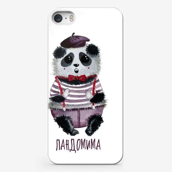 Чехол iPhone «Панда Мим»
