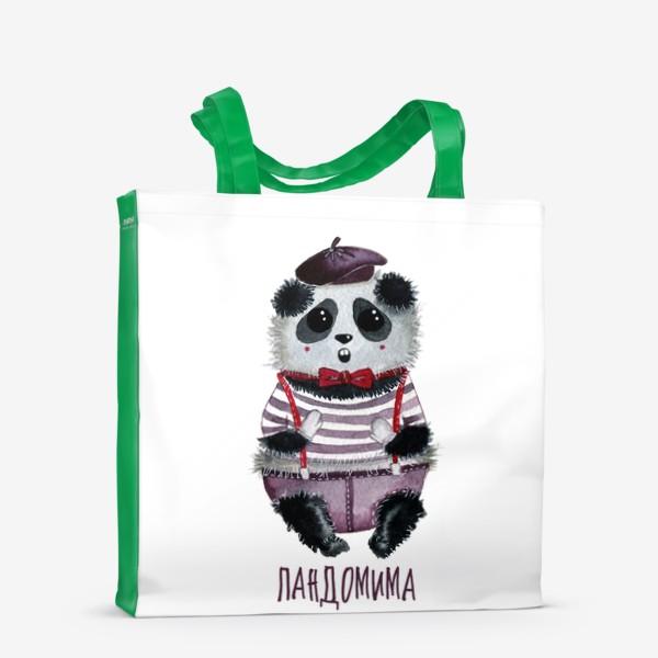 Сумка-шоппер «Панда Мим»
