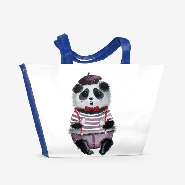 Пляжная сумка «Панда Мим»