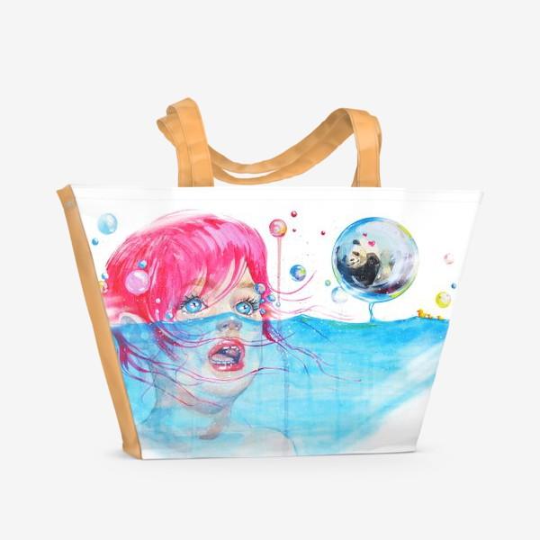 Пляжная сумка «Ma dear panda!»