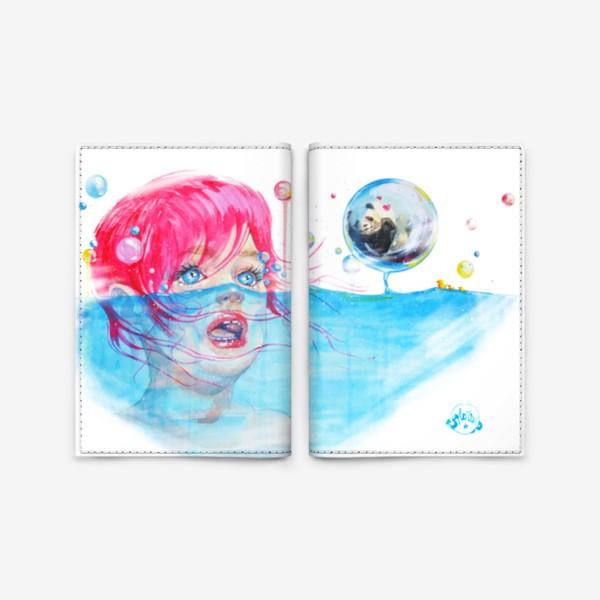 Обложка для паспорта «Ma dear panda!»