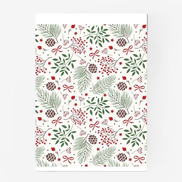 Постер «рождественский паттерн»