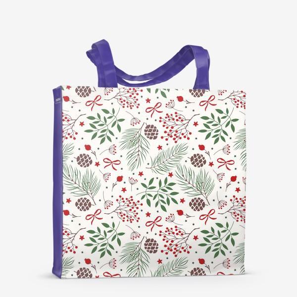 Сумка-шоппер «рождественский паттерн»