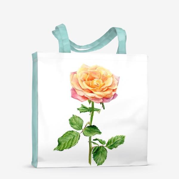 Сумка-шоппер «Желтая роза»