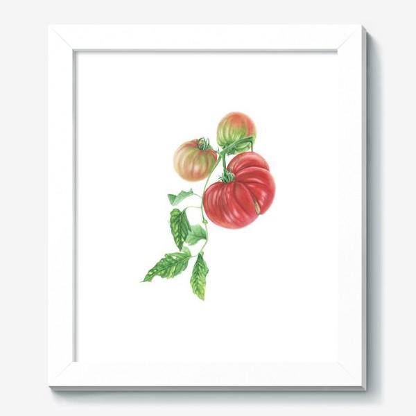 Картина «Гроздь спелых томатов»