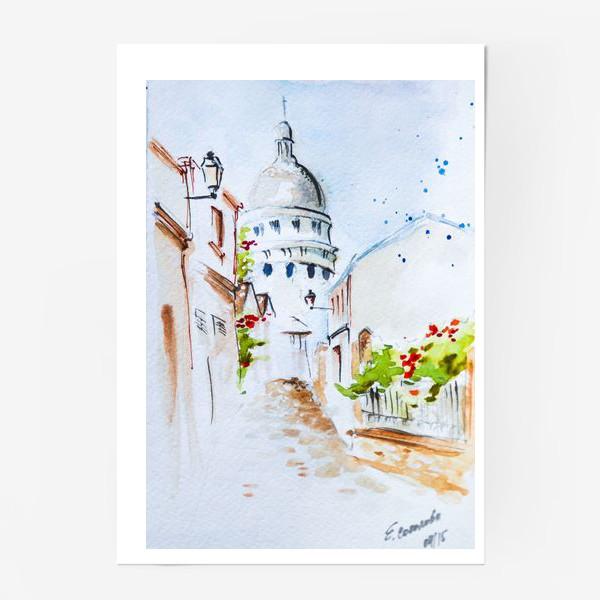 Постер «Париж. Монмартр»