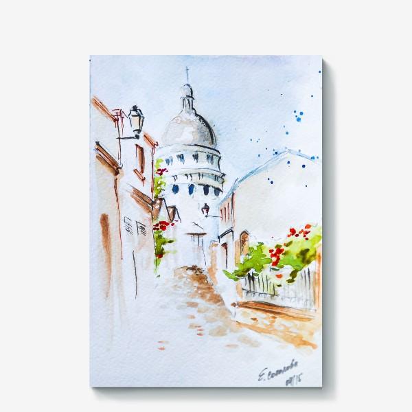 Холст «Париж. Монмартр»