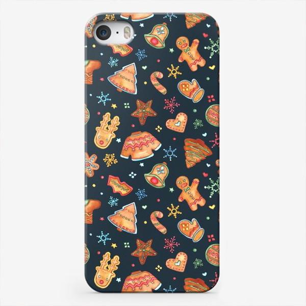 Чехол iPhone «имбирные пряники»