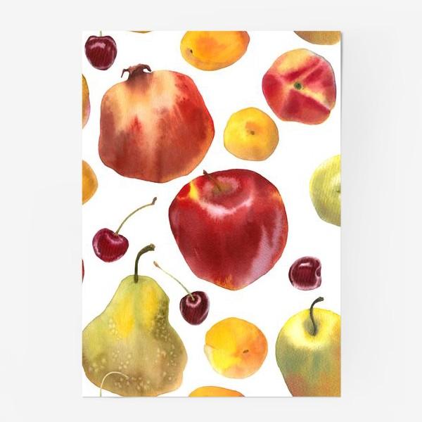 Постер «яблоки и груши №1»