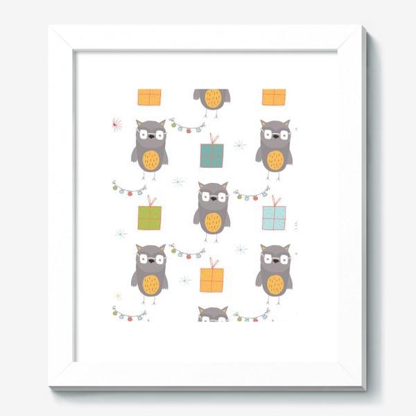 Картина «Совушки»