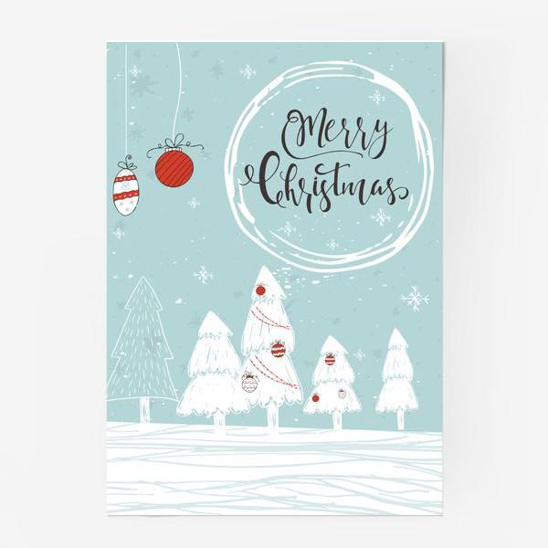 Постер «Merry Christmas»