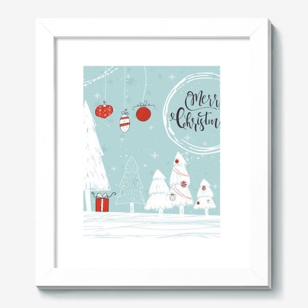 Картина «Merry Christmas»