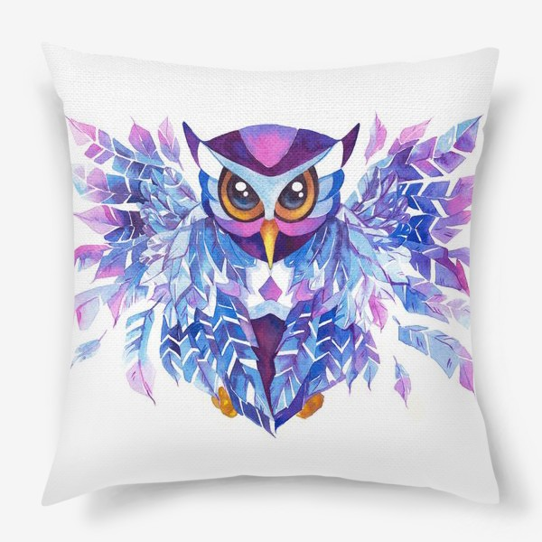 Подушка «Зимняя сова.»