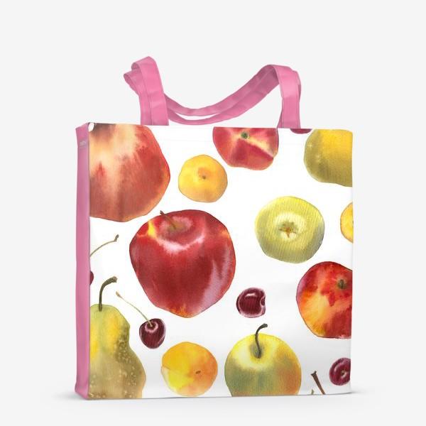 Сумка-шоппер «яблоки и груши №1»