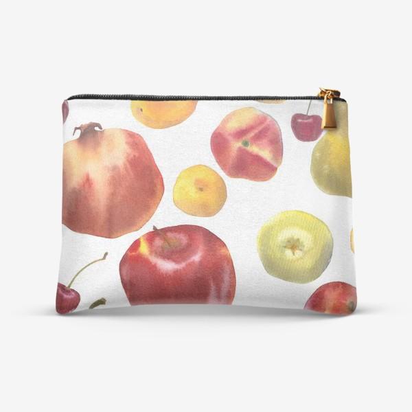 Косметичка «яблоки и груши №1»