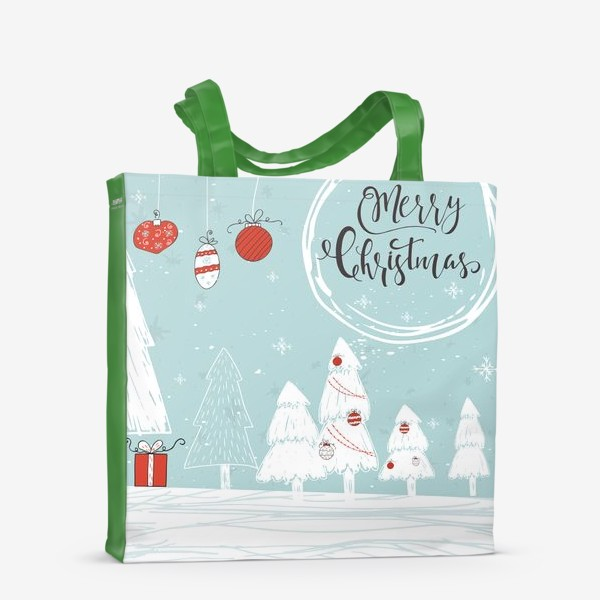 Сумка-шоппер «Merry Christmas»