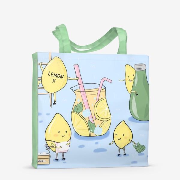 Сумка-шоппер «Lemonade»