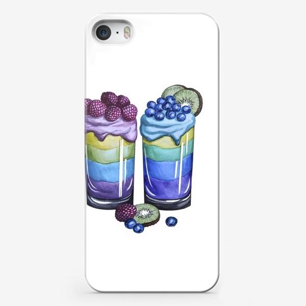 Чехол iPhone «Смузи для двоих»