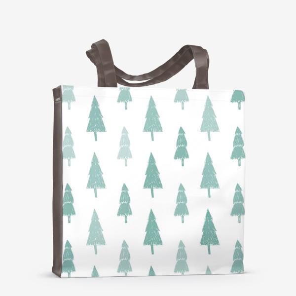 Сумка-шоппер «Зимний лес»